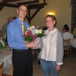 Jörg Pultermann mit Angelika Kraft AWO-OWL