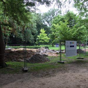 Wasserspielplatz in der Maiwiese in Enger